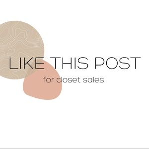For Future SALES • Like This Post!